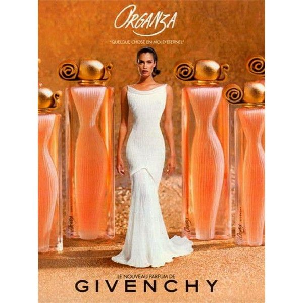 Реклама парфюма Givenchy ORGANZA