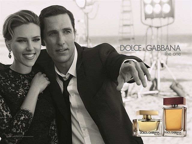 Реклама парфюма Dolce&Gabbana THE ONE for Men