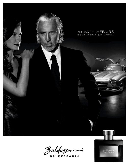 Реклама парфюма Hugo Boss BALDESSARINI PRIVATE AFFAIRS Men