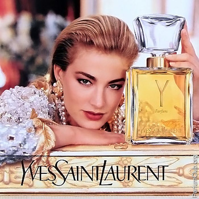 "Реклама парфюма Yves Saint Laurent ""Y"""