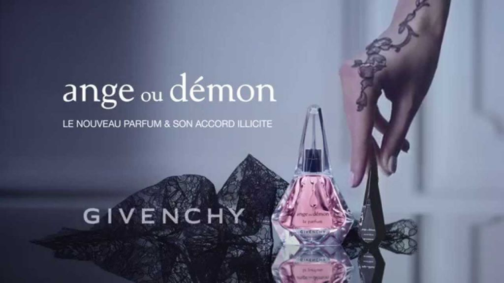 Реклама парфюма Givenchy ANGE OU DEMON Le Parfum & Accord Illicite