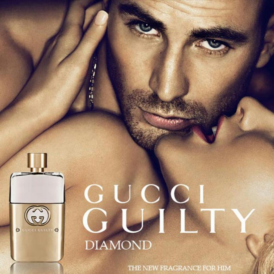Реклама парфюма Gucci GUILTY DIAMOND pour Homme