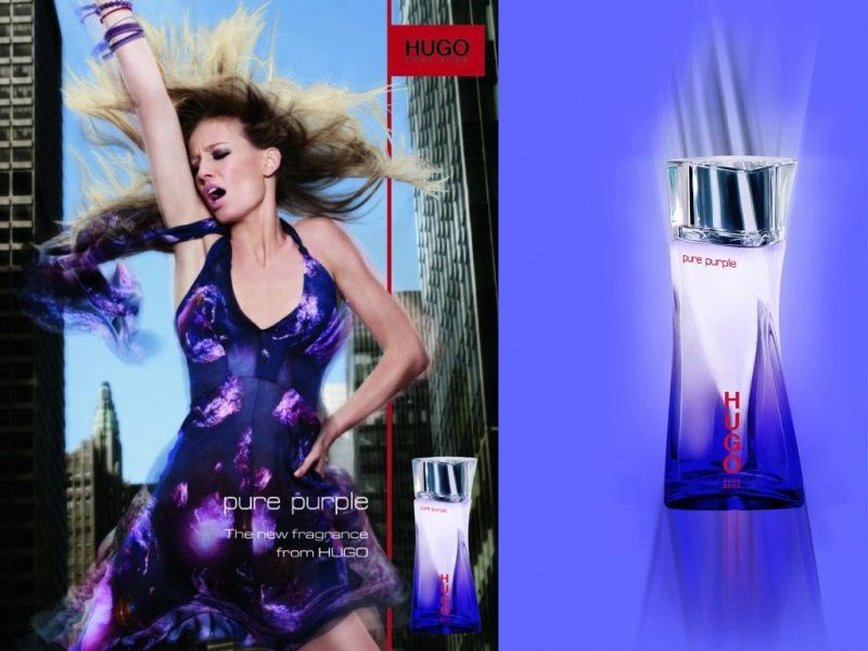 Реклама парфюма Hugo Boss PURE PURPLE Women