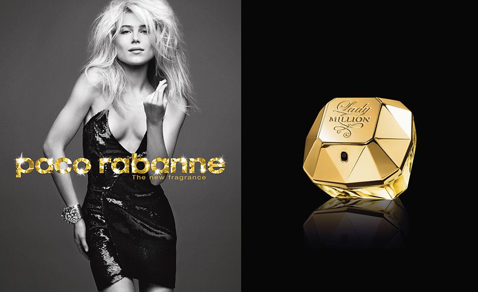 Реклама парфюма Paco Rabanne LADY MILLION